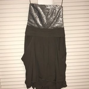 alice & Olivia Strapless Sequin Dress
